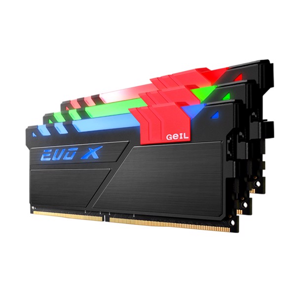 RAM GEIL GAMING SERIES - EVO X - 32GB (2x16GB) - DDR4 - 3000MHz - CL15 - LED RGB - GEX432GB3000C15ADC