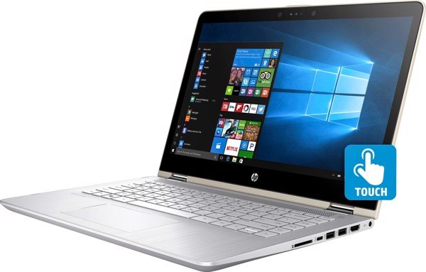 Laptop HP Pavilion X360 11-ad104TU 4MF13PA