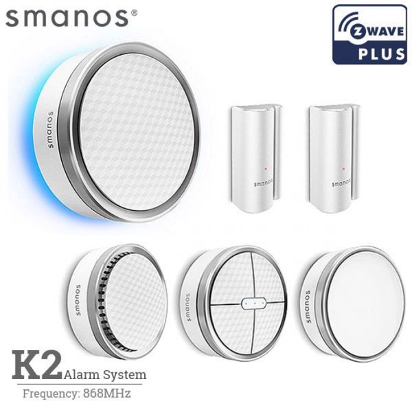K2 SmartHome DIY Kit with Z-Wave (New Smart Home & IoT Offer)