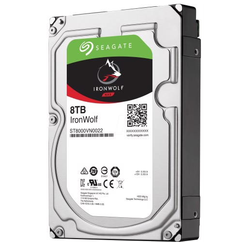 Ổ Cứng HDD SEAGATE IronWolf 8TB - 256MB Cache - 7200RPM