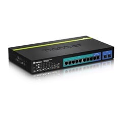 10-Port Gigabit Web Smart PoE+ Switch