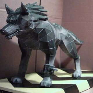 TTG Papercraft - Wolf Link (Legends of Zelda)