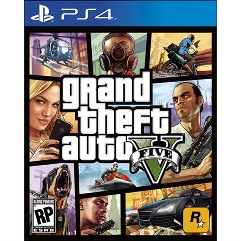 Game PS4 - GTA V