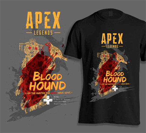 Áo TTG Apex Legends - Blood Hounds
