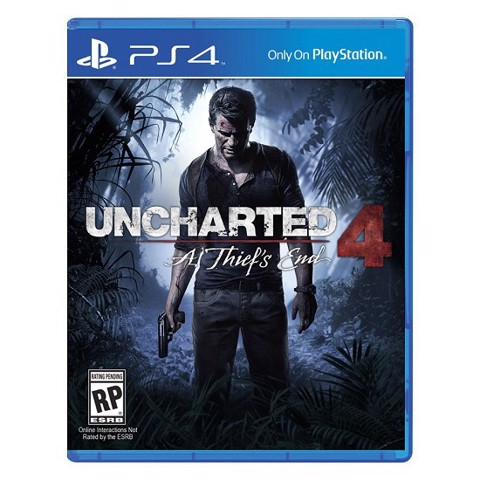 Game PS4 - Uncharted 4