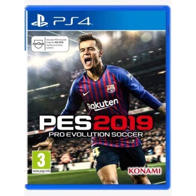 Game PS4 - Pro Evolution Soccer 2019