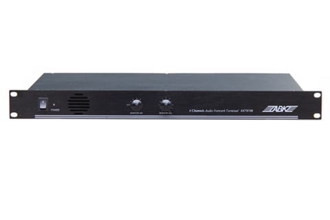 AXT8709 Four Channel Rack-Mounted Network Terminal