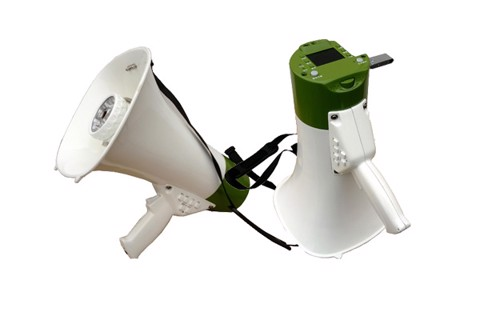 WT302HD High Fidelity Record Megaphone (with Camera)