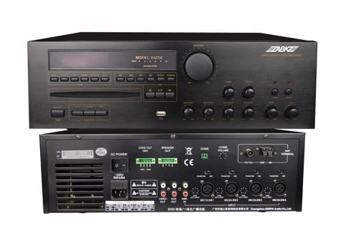 PA27 Series 60W~350W 2 Zones All in one Amplifer with MP3/Tuner/CD/DVD