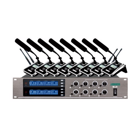 MJ8 Series Microphone UHF 160 channel