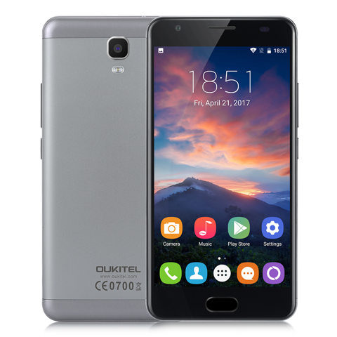 OUKITEL K6000 PLUS - PIN 6080MAH RAM 4GB