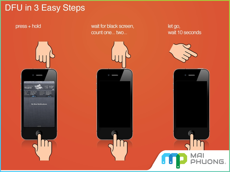 Khởi động lại iPhone, iPad để khắc phục lỗi Bluetooth