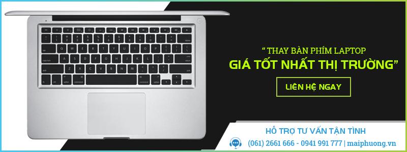 Thay bàn phím laptop giá rẻ tại Biên Hòa