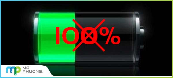 vi sao sac pin laptop khong day 100%