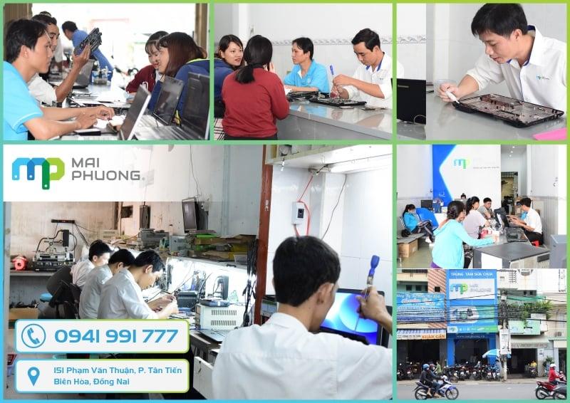 Trung tâm sửa chữa Mai Phương chuyên thay bàn phím laptop tại Biên Hòa Đồng Nai