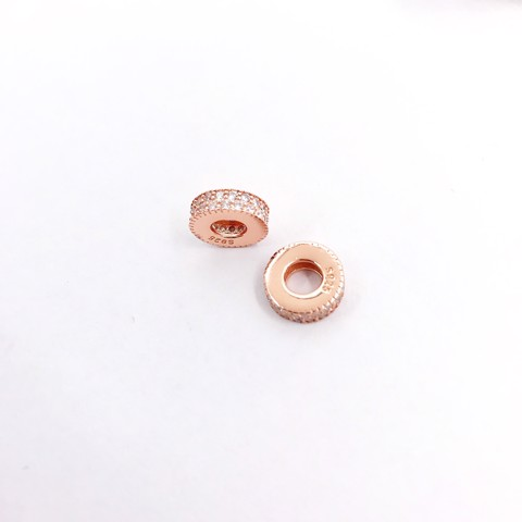 Charm Rose Gold Khoen Sparkling Wheel