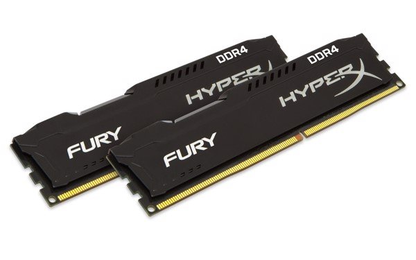 HYPERX FURY - DDR4 Kingston 8GB 2666Mhz DDR4 CL15 DIMM Fury HyperX Black/Red/White