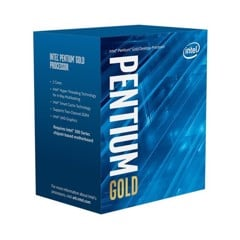 CPU Intel Pentium Gold G6400 (4.0GHz, 2 nhân 4 luồng, 4MB Cache, 58W) - Socket Intel LGA 1200)