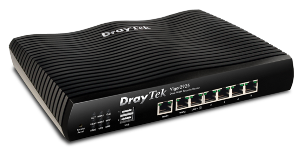 Router Wifi DrayTek Vigor2925