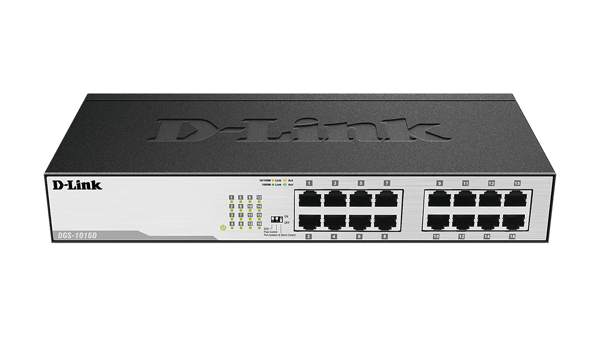 SWITCH 16 PORT D-LINK DGS-1016C TBM