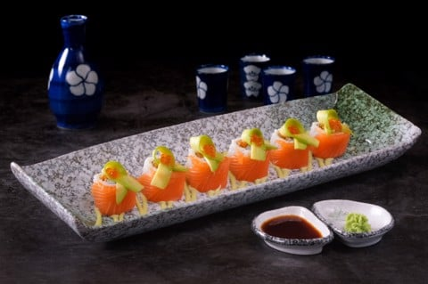 Sushi Tei Special Rolls