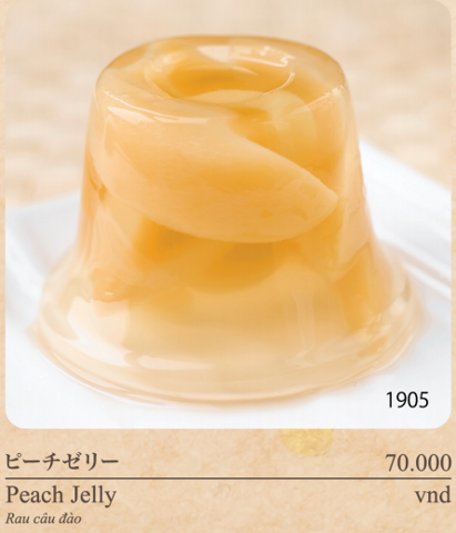 Peach Jelly