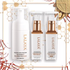 Special Combo: LALAYA Nano Collagen Day and Night Cream 30gram and Rich Moist Foaming Cleanser 100ml - LLYC3