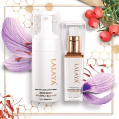 Special Combo: Lalaya Anti Acne Serum & Lalaya Rich Moist Foaming Cleanser - LLYC1