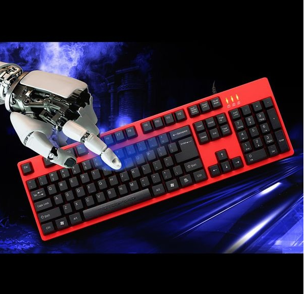 Bàn phím game thủ Motospeed K40 Gaming Keyboard RED