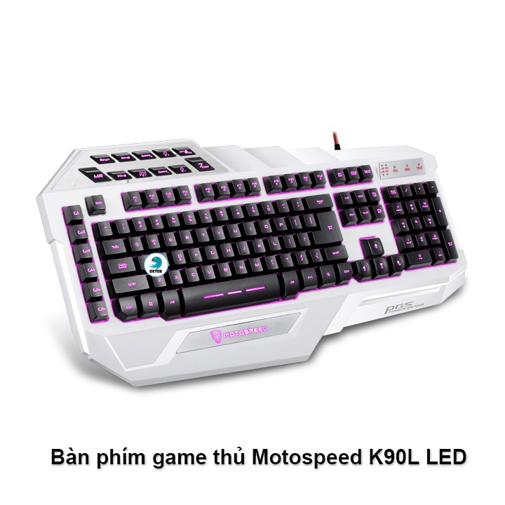 Bàn phím game thủ Motospeed K90L LED Gaming Keyboard