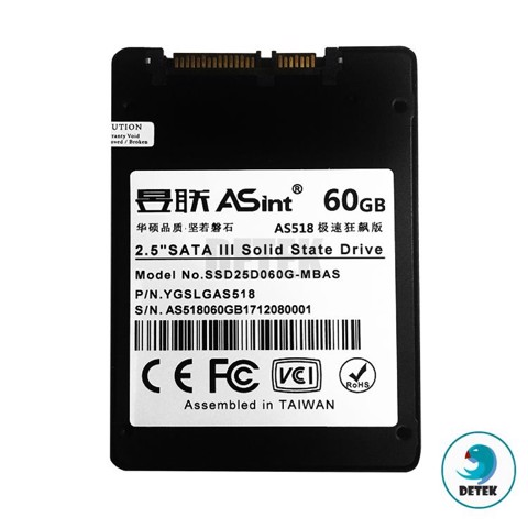 Ổ cứng SSD Asint AS518 60gb