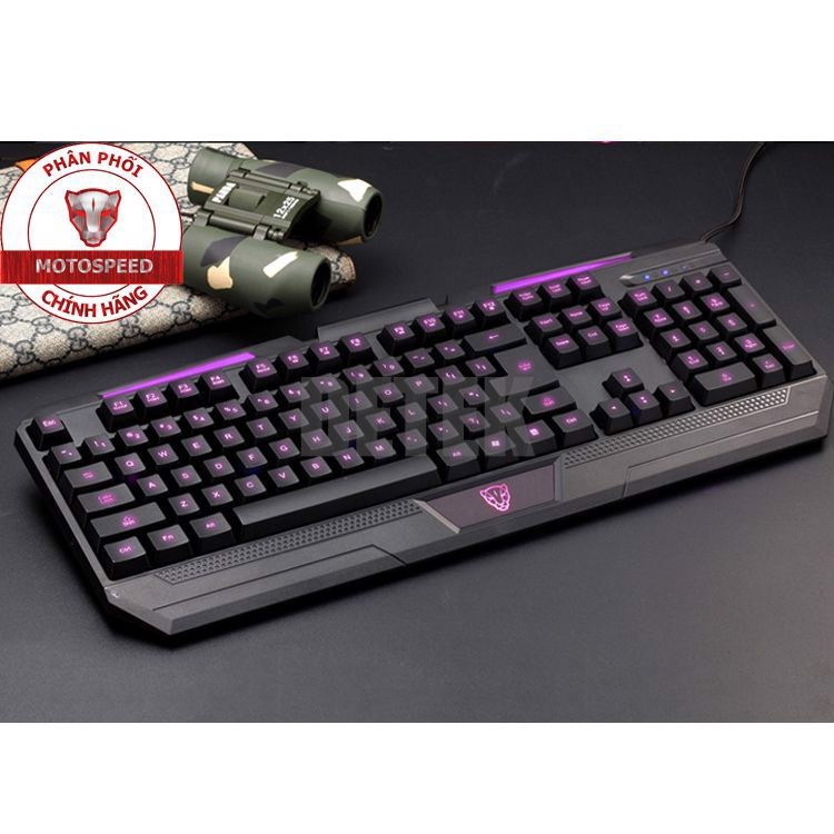 Bàn phím game thủ Motospeed K60L Gaming Keyboard