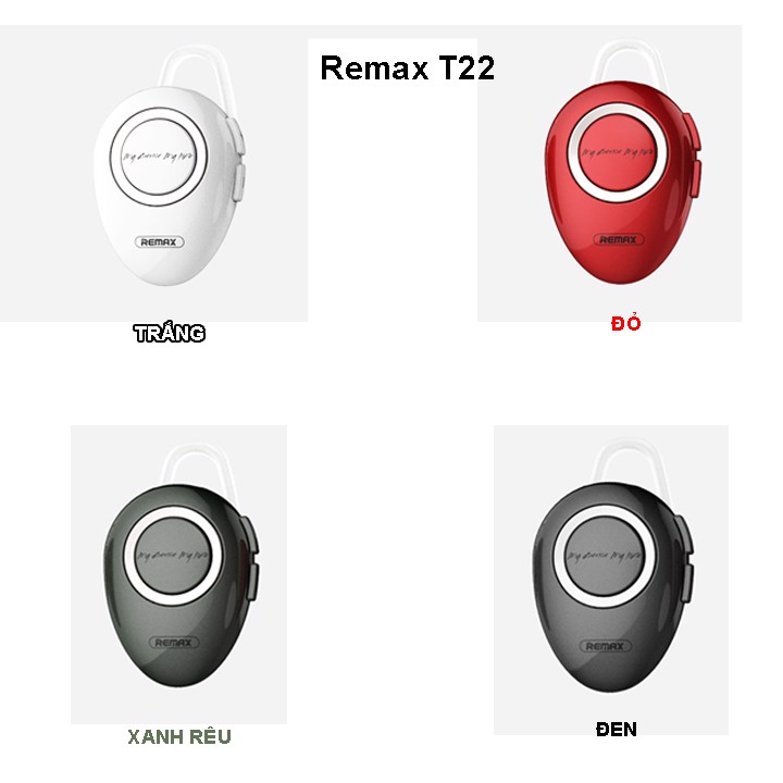 Tai nghe Bluetooth Remax T22