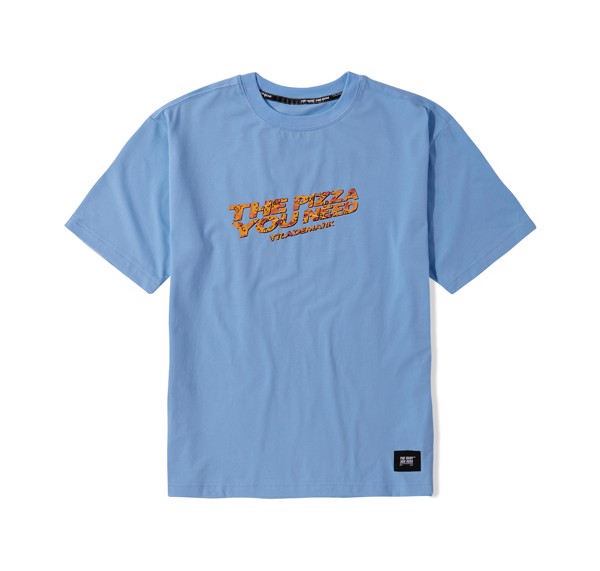 Pizza Tee (Blue) (No Restock)