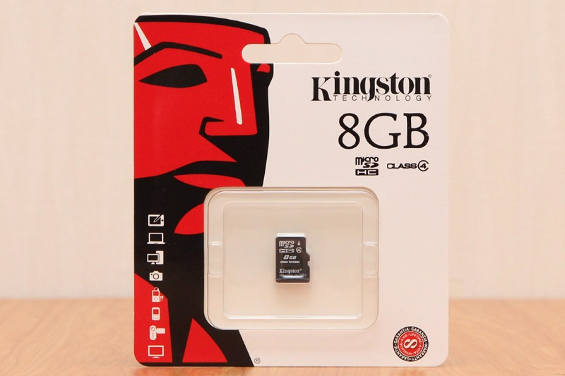 Thẻ Nhớ Micro SD Kingston 8GB SDHC Class 4