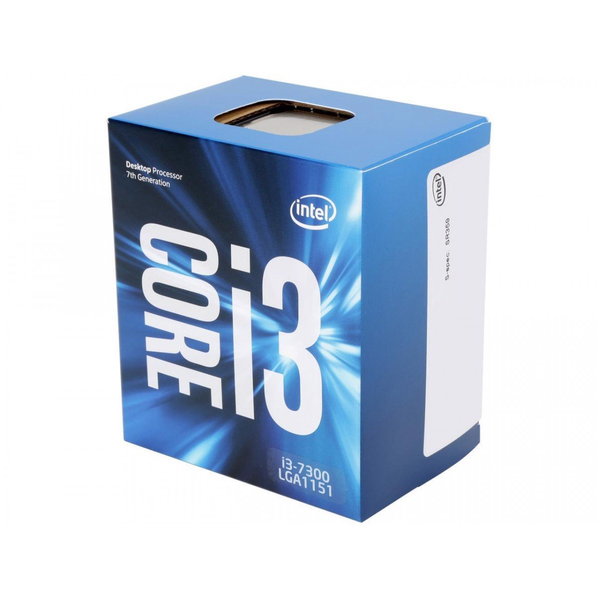 CPU Intel Core i3 7300 (4.0Ghz/ 4Mb cache) Kabylake