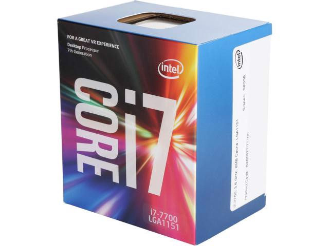 CPU Intel Core i7 7700 (Up to 4.2Ghz/ 8Mb cache) Kabylake