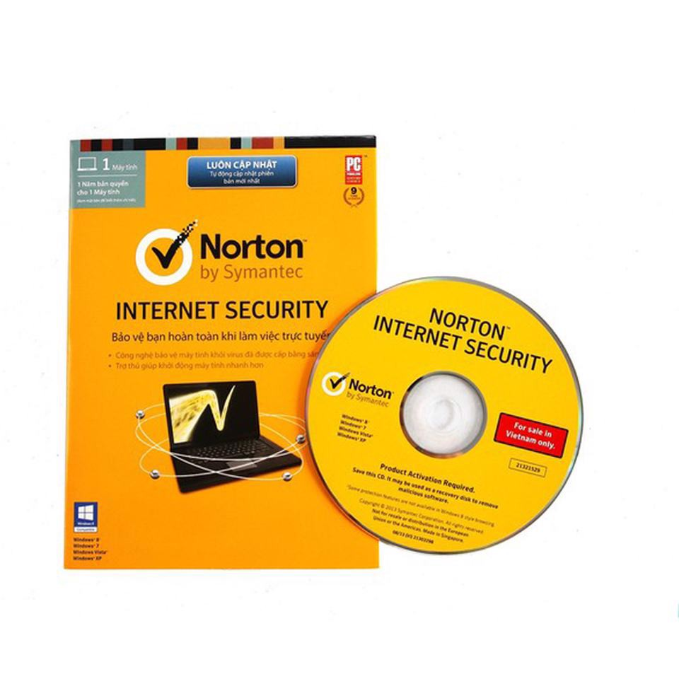 Phần mềm Norton Internet Security 1PC