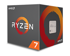 AMD Ryzen 7 1700X (Up to 3.8Ghz/ 20Mb cache) Ryzen
