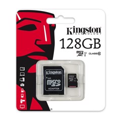Thẻ nhớ Micro SD Kingston 128Gb Class 10