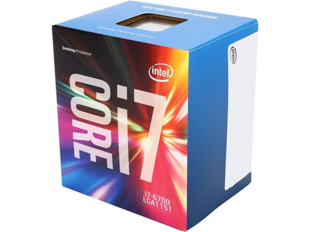 CPU Intel Core i7 6700 (Up to 4.0Ghz/ 8Mb cache)