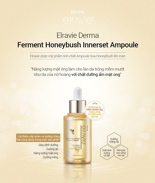 ELRAVIE DERMA FERMENT HONEYBUSH INNERSET AMPOULE