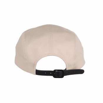 Leather Strap Camp Cap Tan Oostock