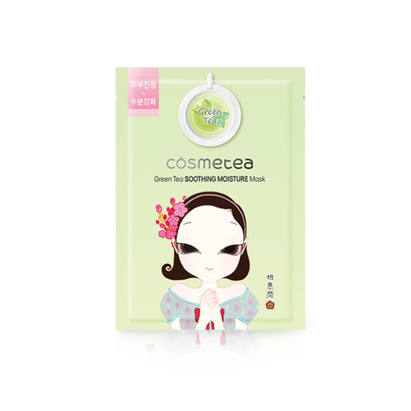 Mặt nạ Cosmetea Green Tea Soothing Moisture Mask  30ml