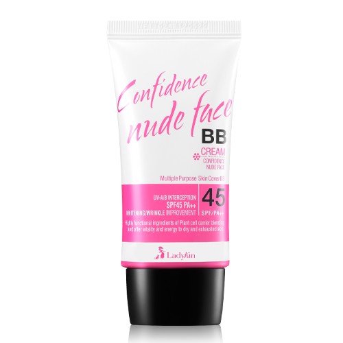 BB Cream Ladykin Confidence Nude Face SPF45PA++