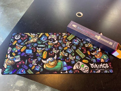 Mousepad Vikings Barbarian Chroma Plus (900x400x4)