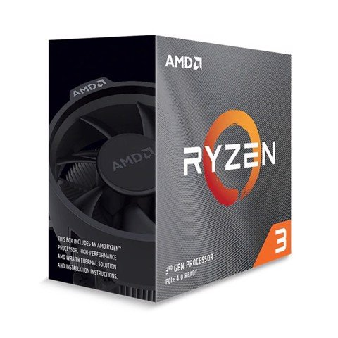 AMD Ryzen 3 3300X (3.8GHz turbo up to 4.3GHz, 4 nhân 8 luồng , 16MB Cache, 65W)
