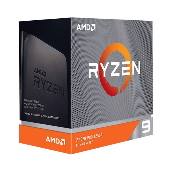 AMD Ryzen 9 3900XT (3.8 GHz turbo upto 4.7GHz / 70MB / 12 Cores, 24 Threads / 105W)