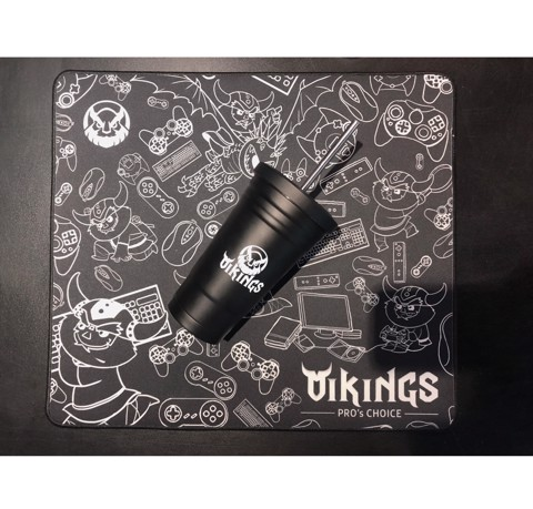 Mousepad Vikings Barbarian Large Size (450x400x3)