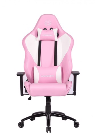 Ghế ACEGAMING CHAIR KW- G71 White + Pink
